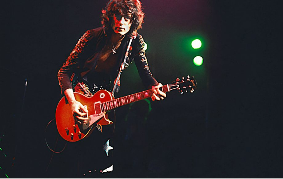 Jimmy Page 'dragon' guitar released to celebrate Led Zeppelin's 50th anniversary