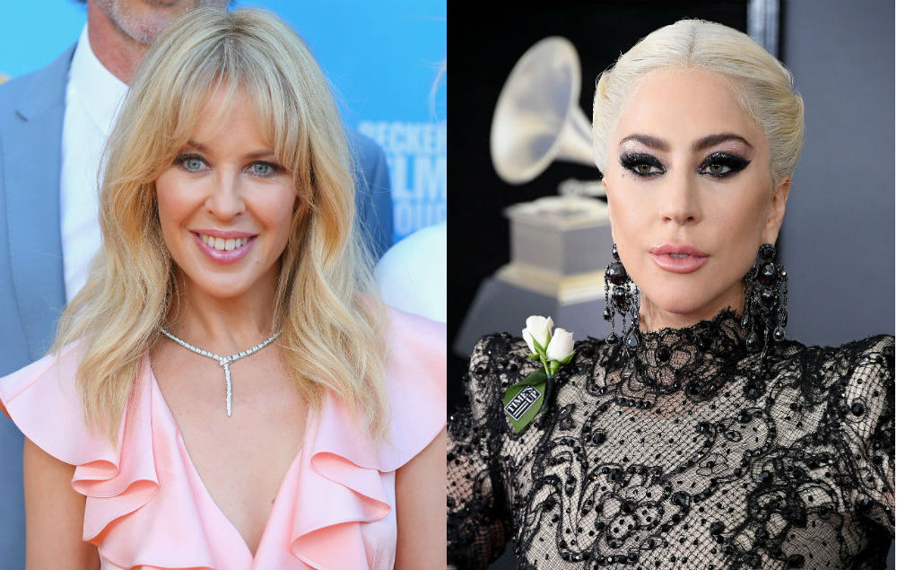 Kylie Minogue Wants To Duet With Lady Gaga In The Future