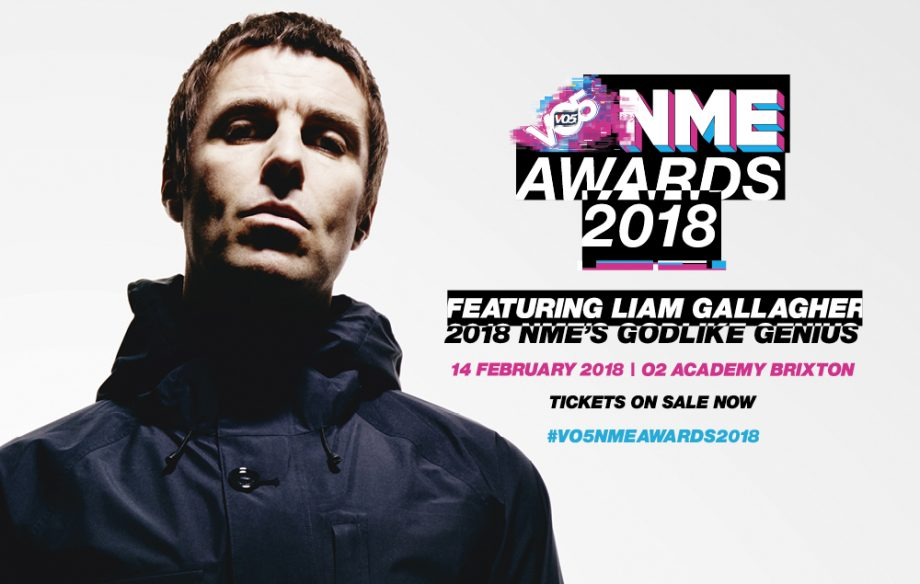 Liam Gallagher VO5 NME Awards