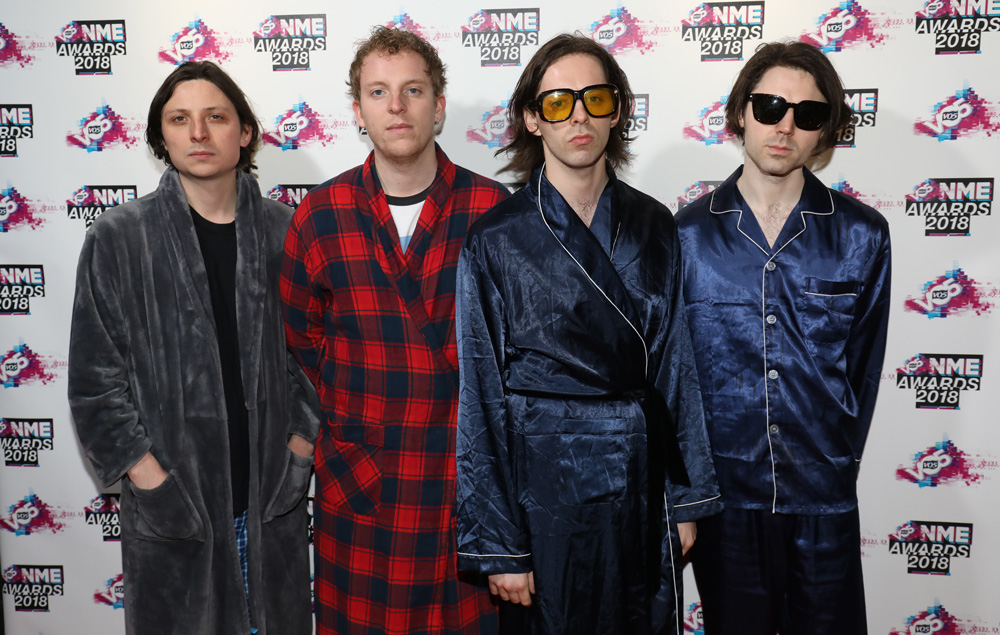 Peace at the VO5 NME Awards 2018