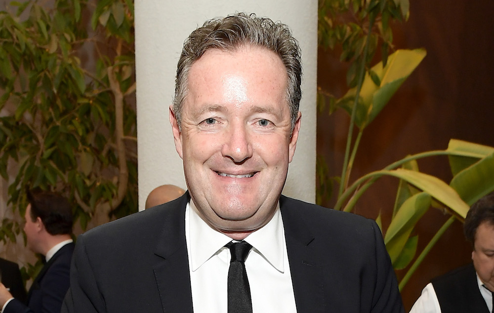 Watch Piers Morgan React To Winning Villain Of The Year At