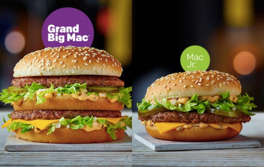 Mcdonalds Has Launched A Smaller And Even Bigger Big Mac