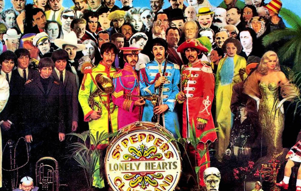 The Beatles' 'Sgt. Pepper's' artwork has been reimagined with 21st century celebrities