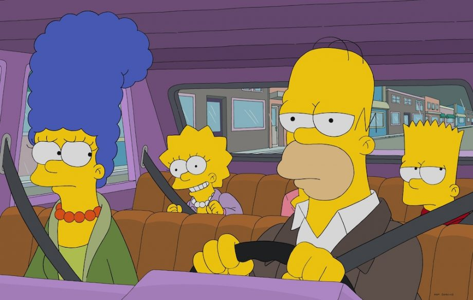 Cartoon Characters Facing Forward : Front facing simpsons characters deserve their own horror film