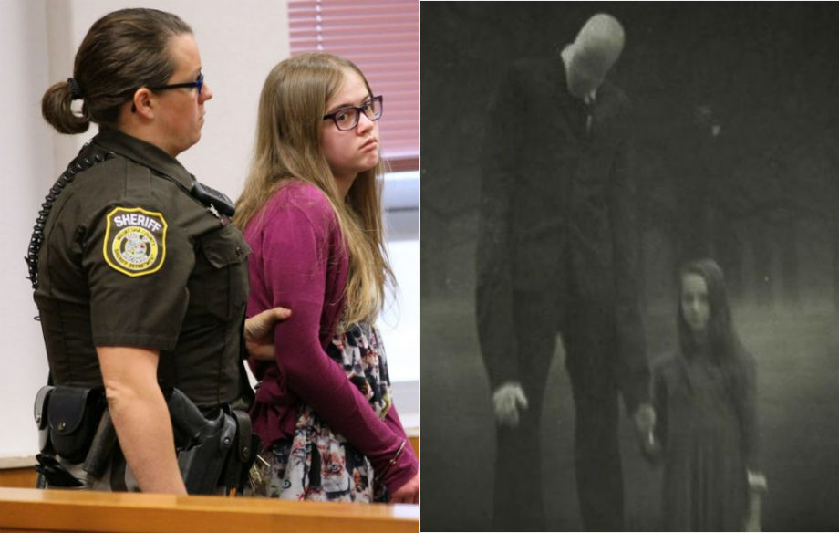 Morgan Geyser Is Brought Into Court By A Sheriffs Deputy On Aug 21 2015
