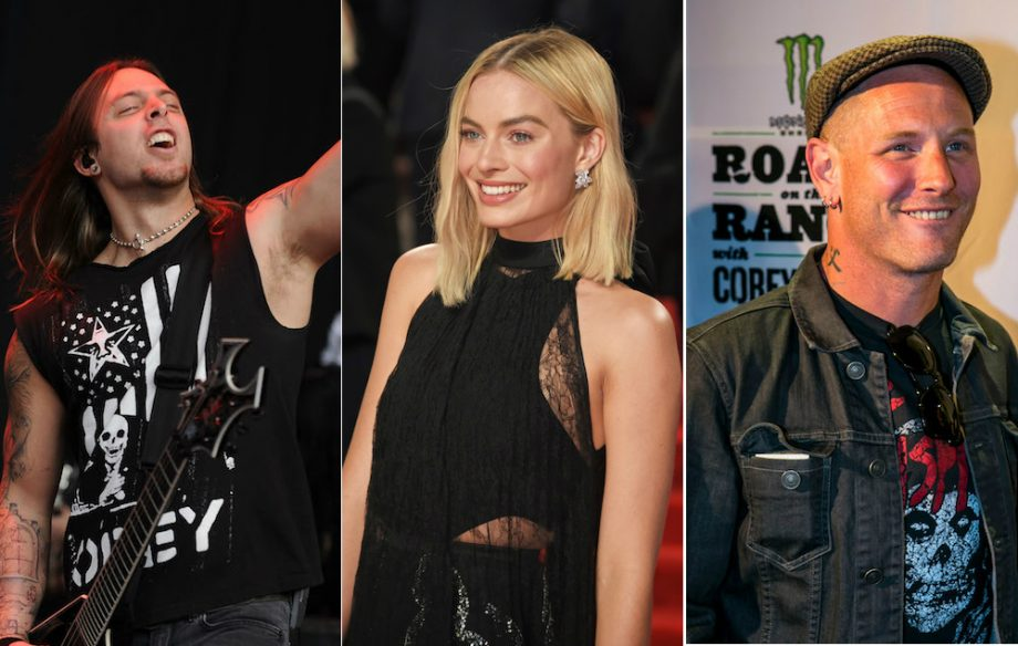 Watch margot robbie get surprised by bullet for my valentine and watch margot robbie get surprised by bullet for my valentine and slipknots corey taylor voltagebd Image collections