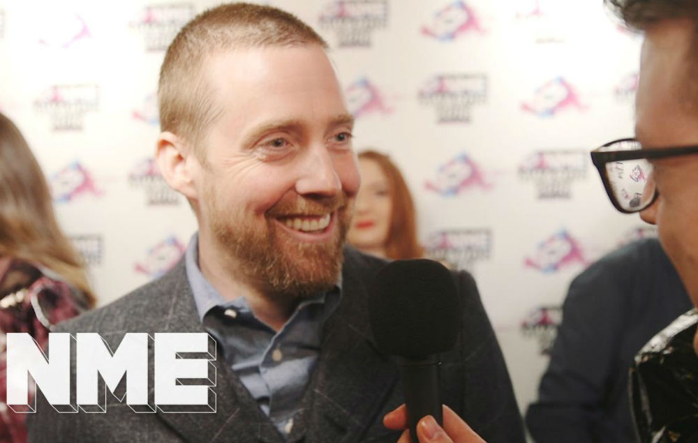 Kaiser Chiefs Ricky Wilson At The Vo Nme Awards