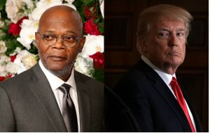 Samuel L. Jackson and Donald Trump