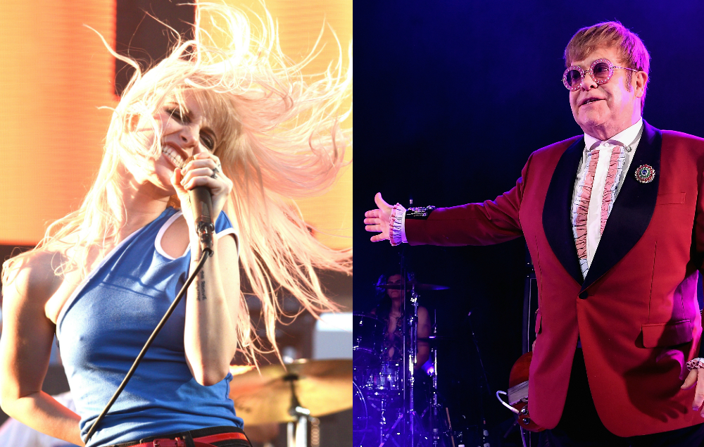 Hayley Williams Invites Elton John To A Paramore Show