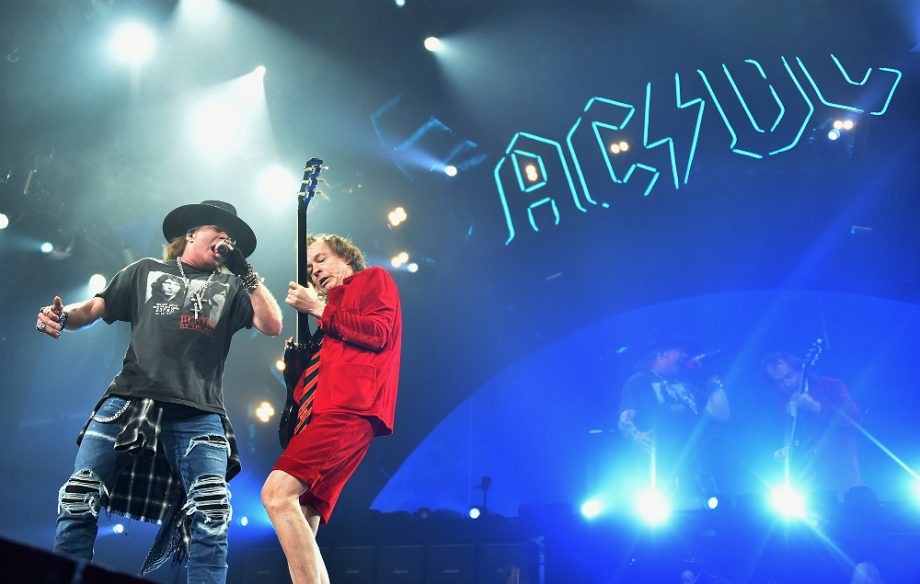 Angus Young Is Writing A New AC/DC Album With Axl Rose