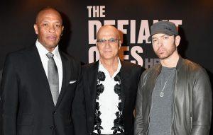 Dr Dre, Jimmy Iovine and Eminem