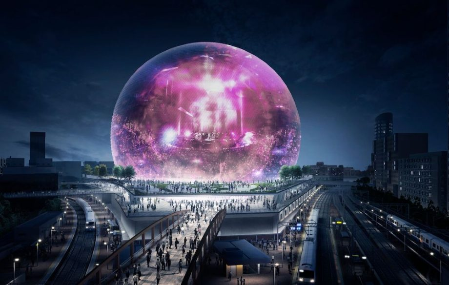 a rendering of the msg sphere london credit msg london - Madison Square Garden Jobs