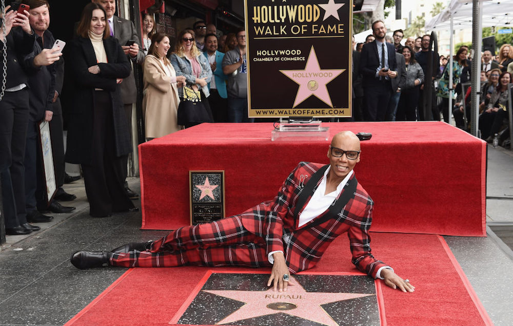 Rupaul Becomes First Drag Icon To Get A Star On The