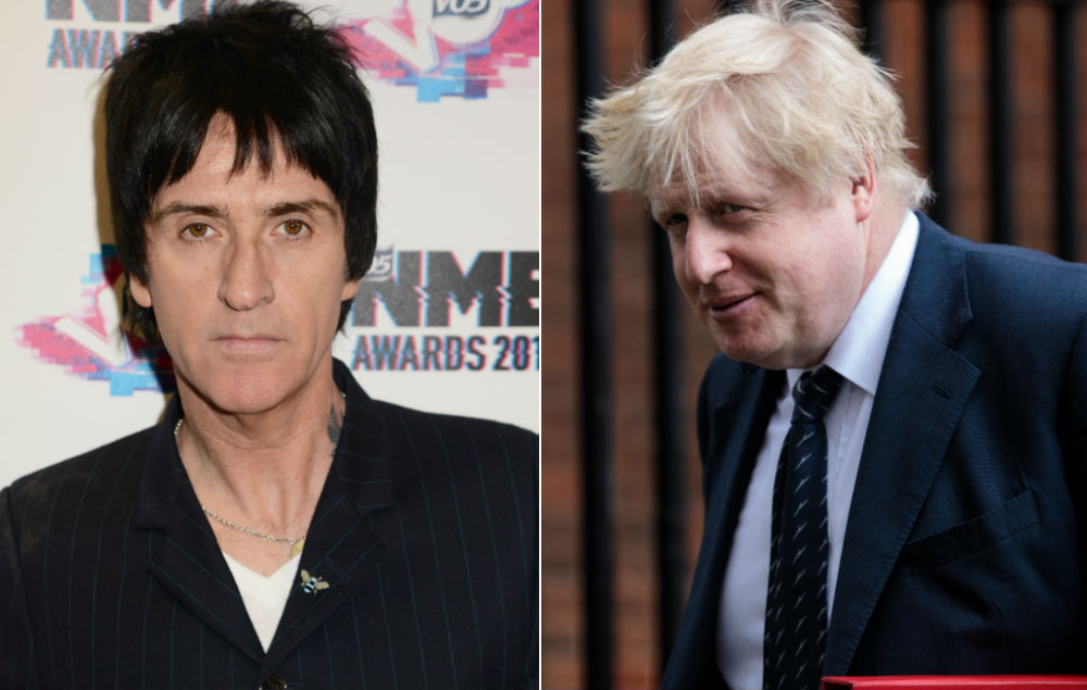 Johnny Marr Boris Johnson Is A Quot F Ing Moron Quot