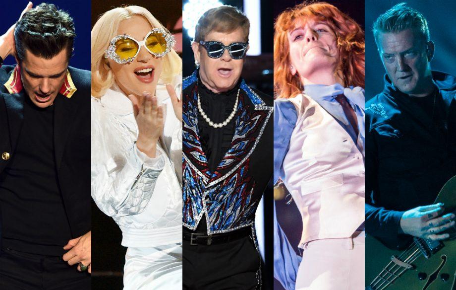 The Killers, Lady Gaga, Florence, QOTSA and more for new Elton John ...