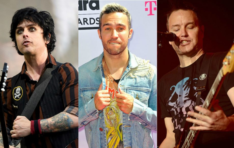 Watch Green Day Fall Out Boy And Blink 182 Read Mean Tweets About