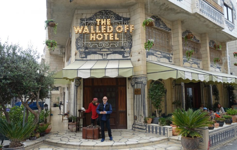 Brian Eno, Roisin Murphy and more made an album at Banksy's Walled Off Hotel in Palestine – hear it here first