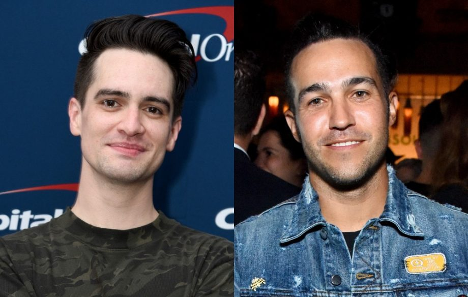 Brendon Urie And Pete Wentz Credit Getty