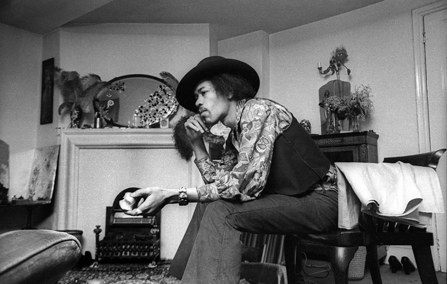 Jimi Hendrix's record collection: Dylan, Handel and Beatles