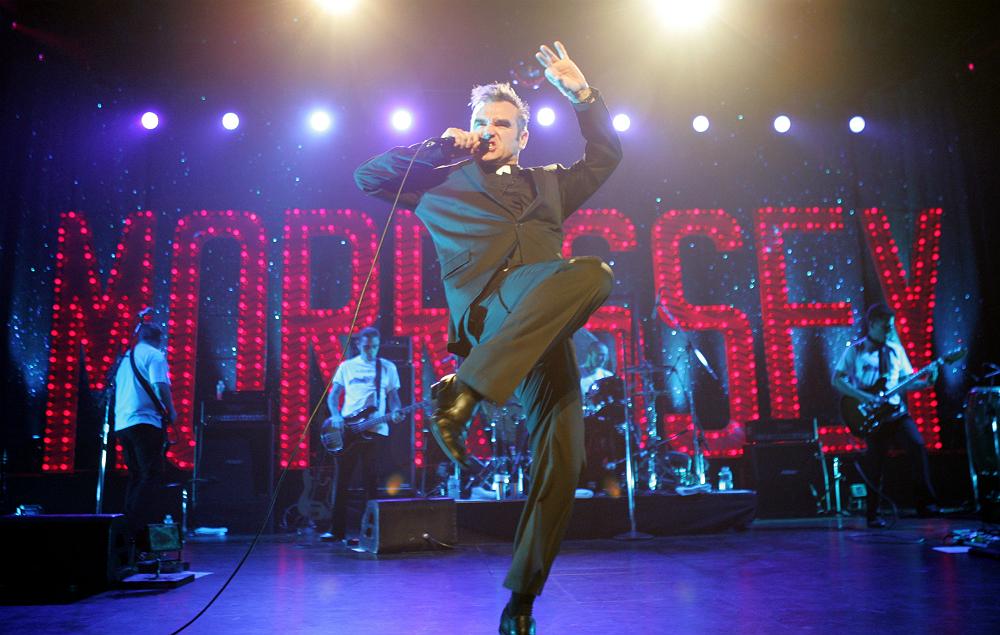 Morrissey live in 2004