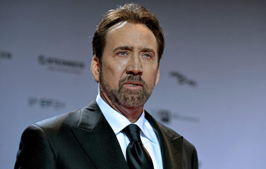Nicolas Cage dans un film de SF de l'excellent Sono Sion dans Films series - News de tournage GettyImages-625763258-920x584