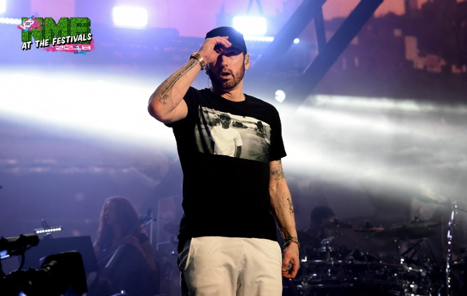 Watch Eminem bring out Dr Dre, 50 Cent, Skylar Grey and more