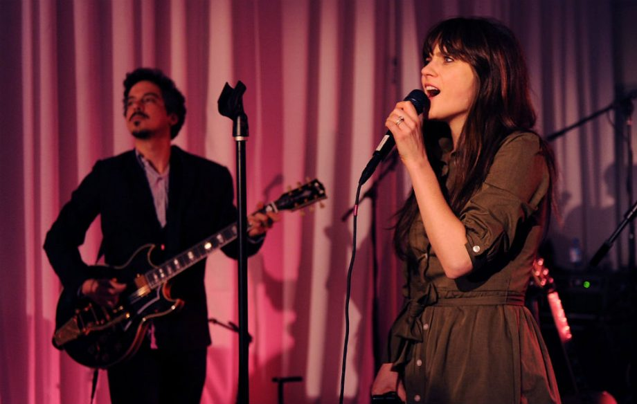 Zooey Deschanel and M Ward return as She & Him with two new songs - NME