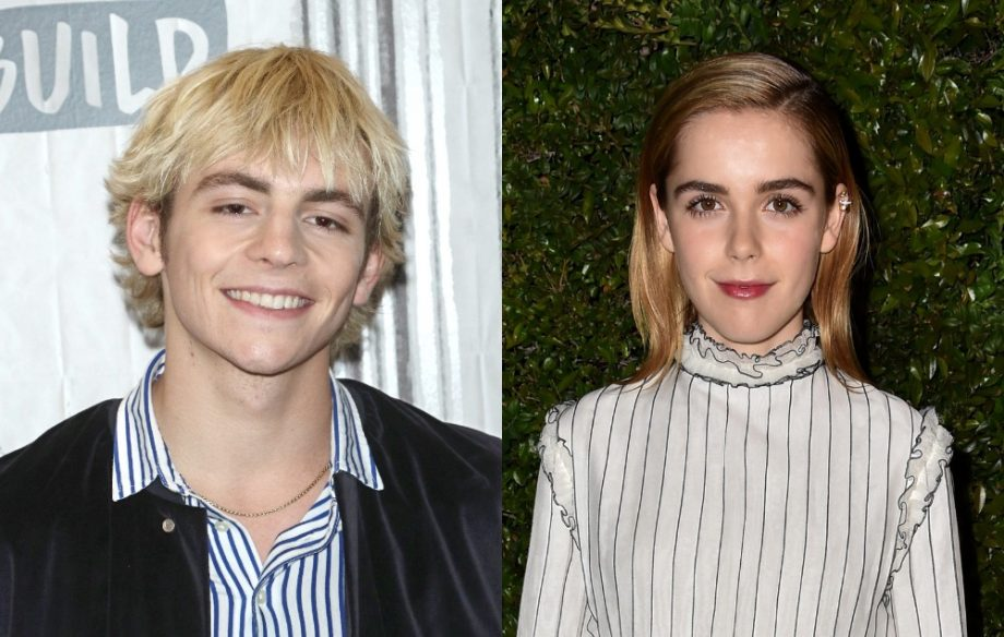 See the first photos of Sabrina and Harvey from Netflix's