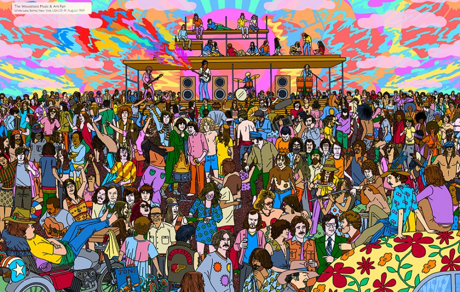 Find The Rogue Welly In Matt Everitt S Festival Themed
