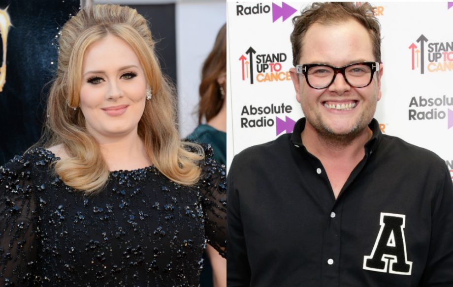 Adele Reveals That She Officiated Alan Carr S Wedding Nme