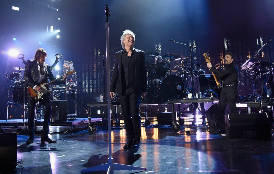 Watch Bon Jovi reunite for Rock and Roll Hall of Fame induction