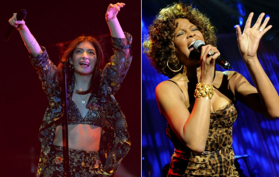 Lorde Apologises For Posting Poorly Chosen Whitney Houston Quote