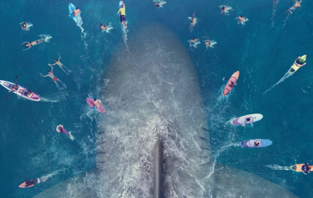 The Meg Jason Statham Fights A Shark In The Craziest