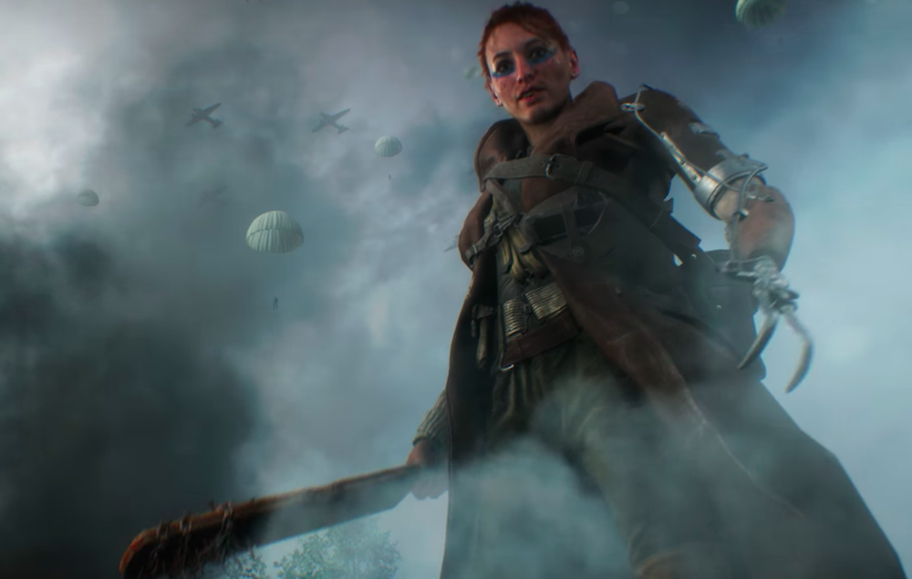 Watch the epic new trailer for 'Battlefield 5' as ...
