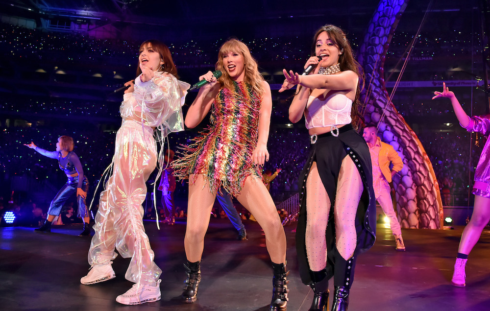 Taylor Swift Joined By Camila Cabello And Charli Xcx For