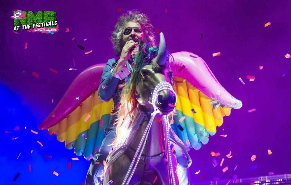 The Flaming Lips Wayne Coyne Wants To Make Vinyl Out Of