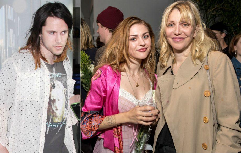 Courtney Love And Kurt Cobain Wedding.Frances Bean Cobain S Ex Husband Isaiah Silva Is Reportedly