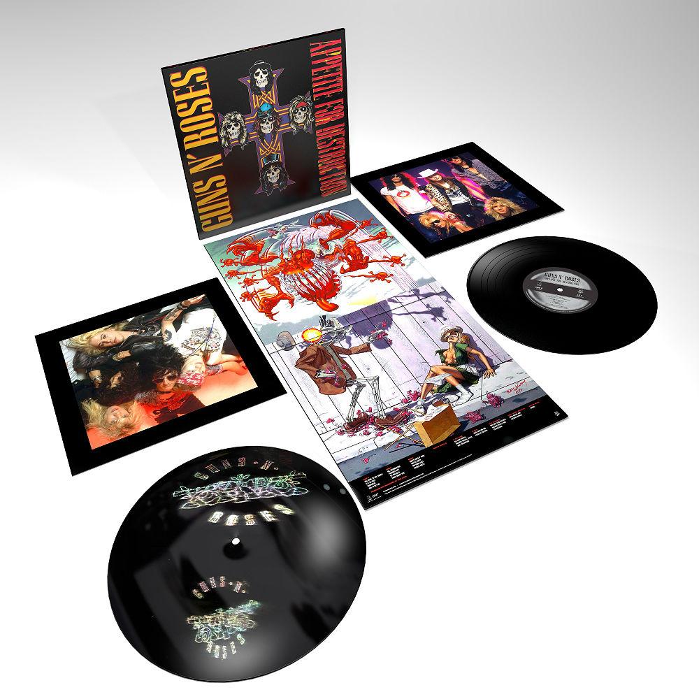 The deluxe reissue of Guns N' Roses 'Appetite For
