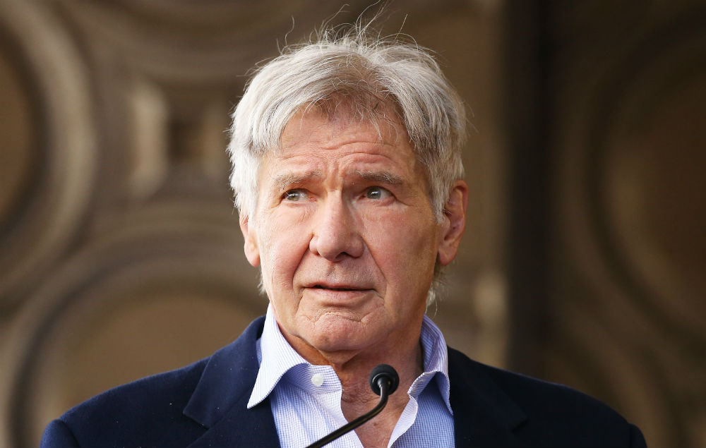 Harrison Ford has give...