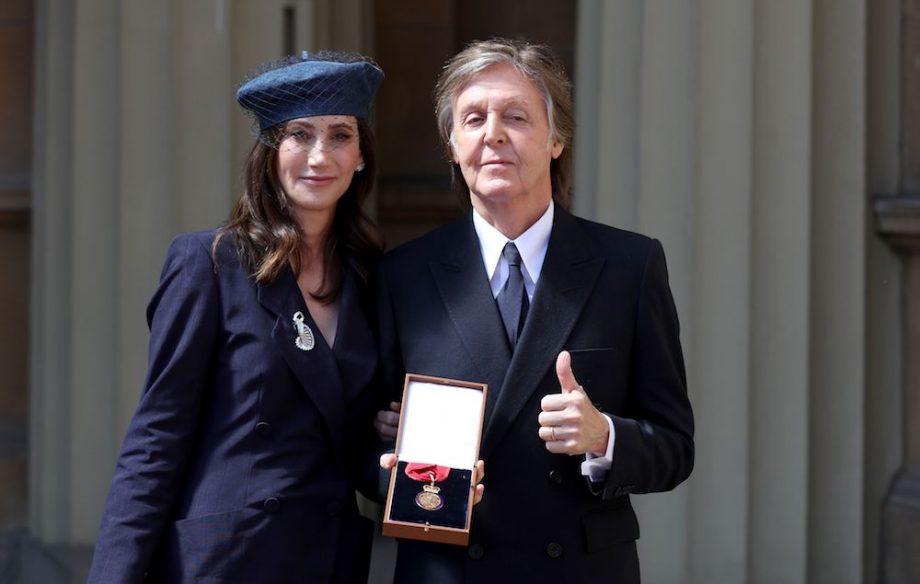 Paul McCartney Companion Of Honour