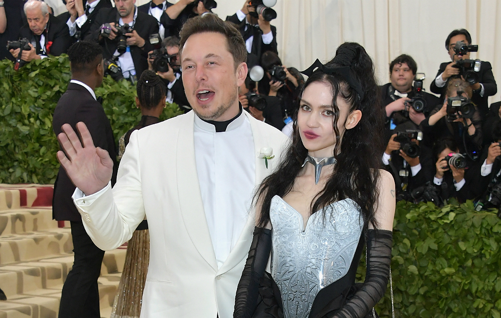 Grimes And Elon Musk Went To The Met Gala Together Nme