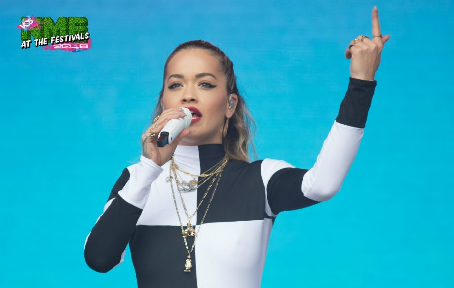 adfa5a78a771 Rita Ora pays emotional tribute to Avicii at BBC s Biggest Weekend - NME