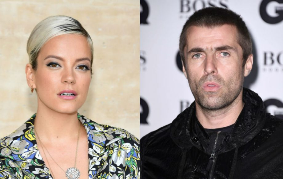 Lily Allen responds to claims she had sex with Liam Gallagher on a plane