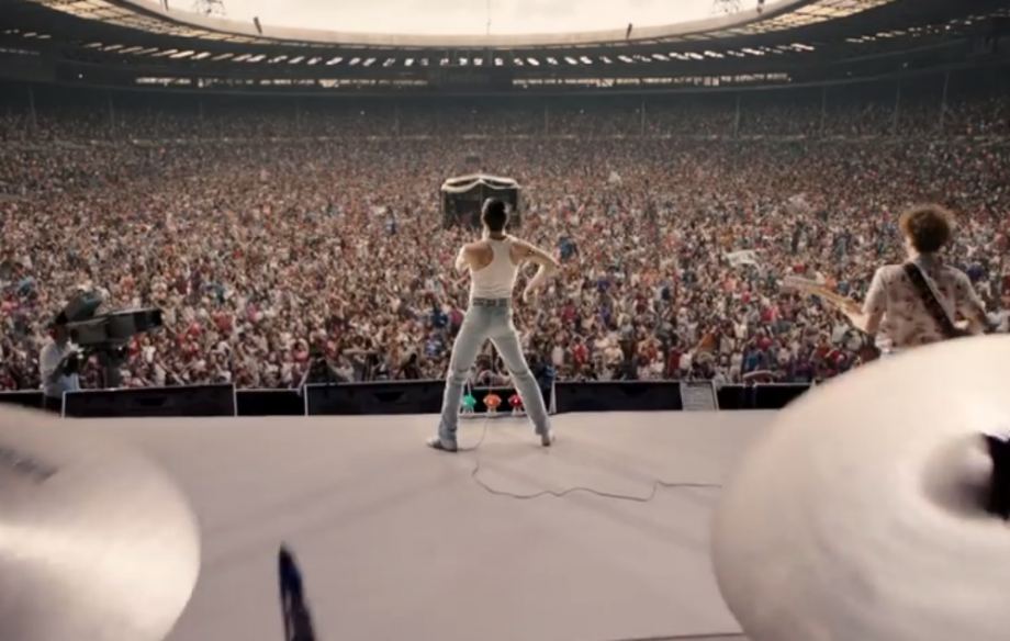 Here's the first footage from Queen's 'Bohemian Rhapsody' biopic