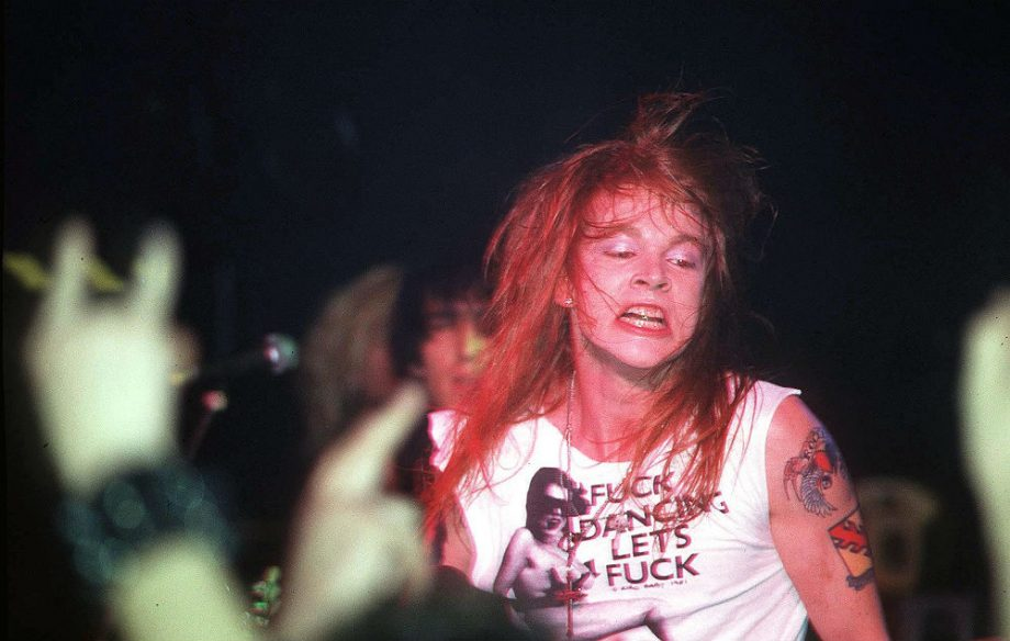 Guns N' Roses remove track accused of racism and homophobia