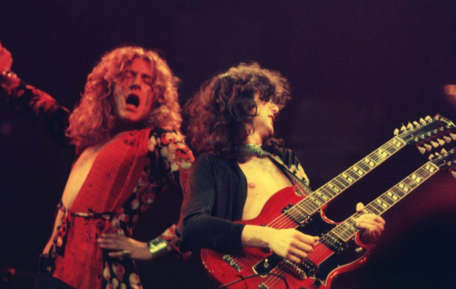 """Listen to Led Zeppelin's Jimmy Page tell """"psychedelic story"""" behind his mirrored guitar"""