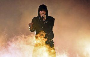 Eminem gunshot