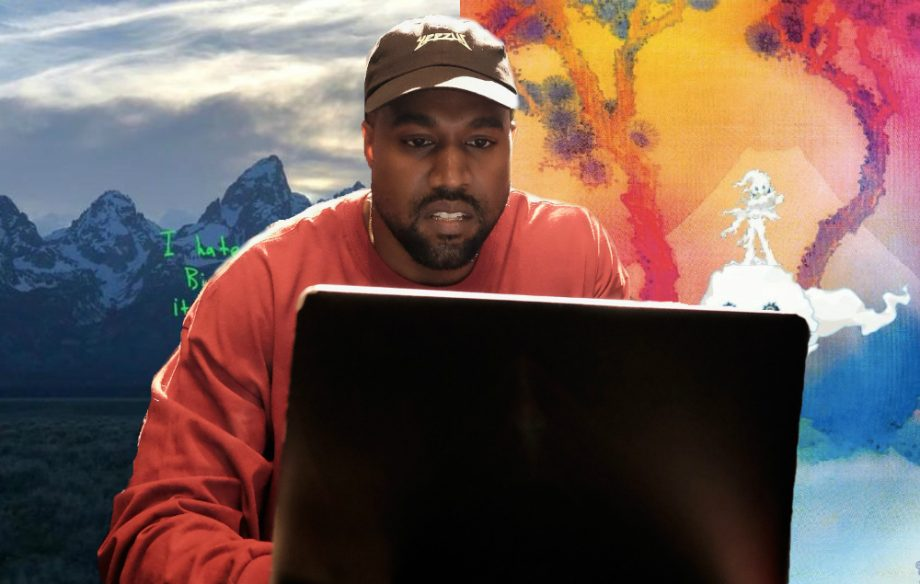 We edited the two quite good Kanye West albums and made one