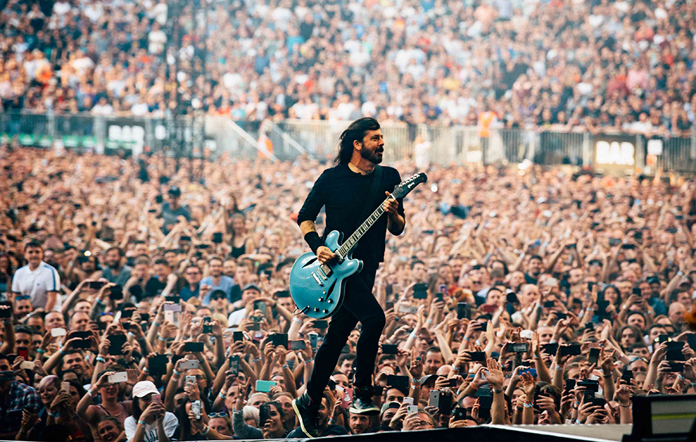 Foo Fighters London Stadium Review Dave Grohl Amp Co Hit