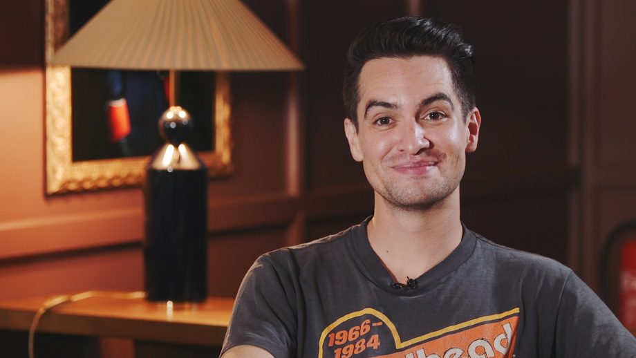 34e818896 Panic! At The Disco Brendon Urie Interview: